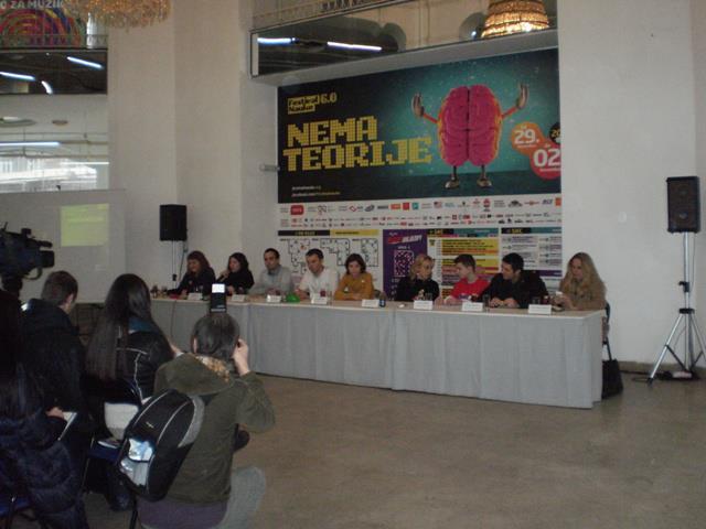 Конференција за медије поводом Фестивала науке 6.0. Press conference of the 6th edition of Belgrade Science Festival.